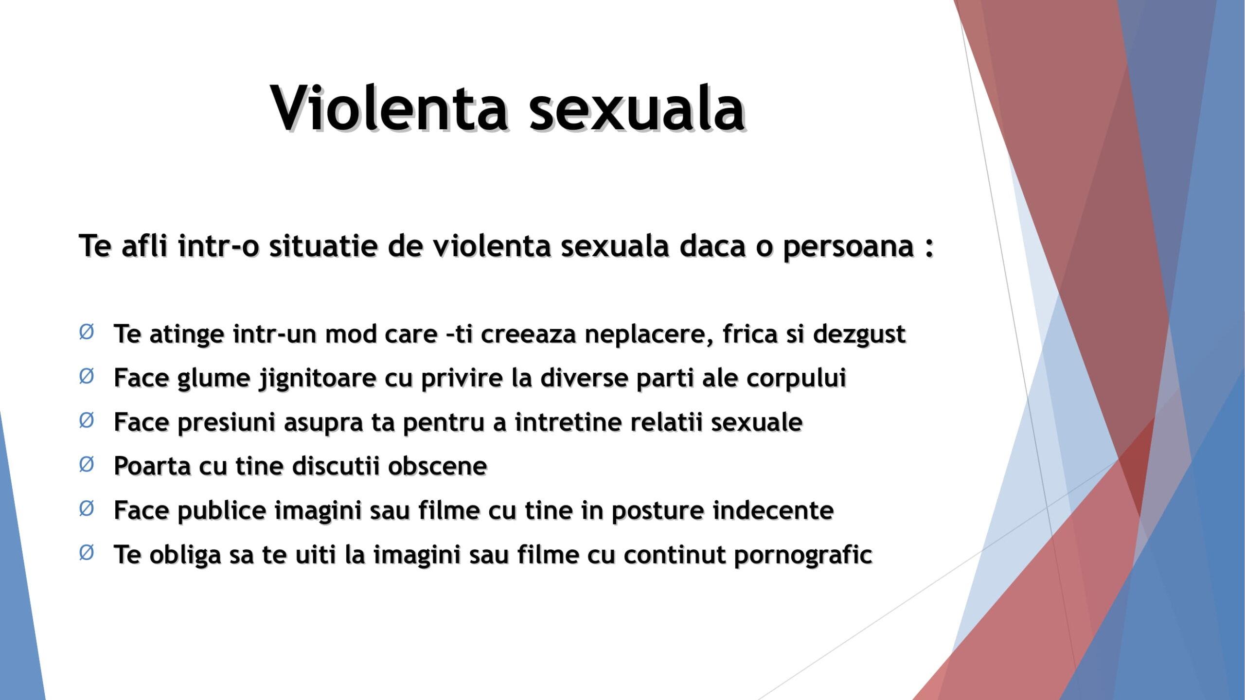Violența sexuală